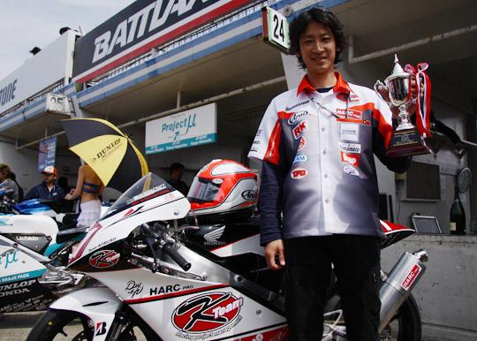 全日本ロードレースで優勝