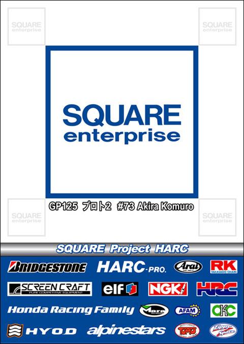 SQUARE Project HARC様 チームポスターパネル製作